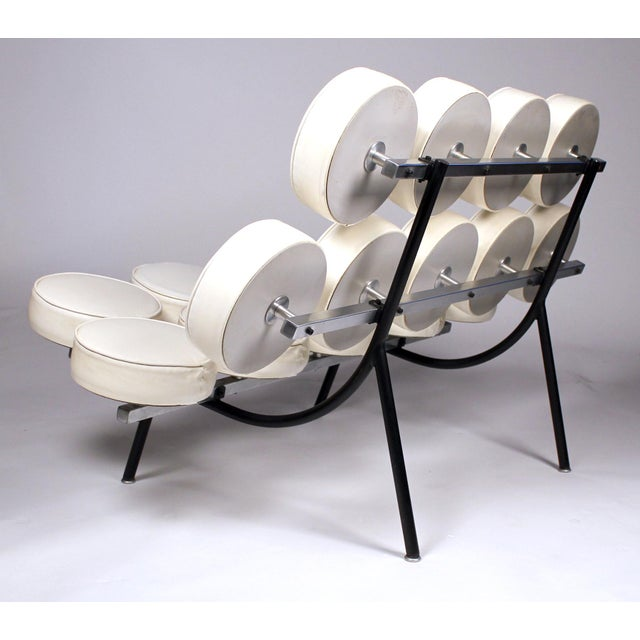 Mid-Century Modern Early Marshmallow Sofa by George Nelson for Herman Miller For Sale - Image 3 of 11