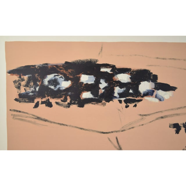 "Abstract 1950s Vintage ""Transhumance"" Pierre Tal-Coat French Abstract Lithograph Print For Sale - Image 3 of 7"