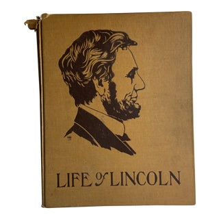 1905 the Life of Abraham Lincoln Book For Sale