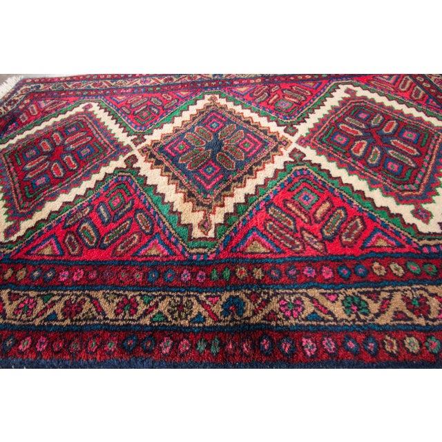 "Apadana - Vintage Persian Hamadan Rug, 2'8"" x 4'4"" For Sale - Image 5 of 5"