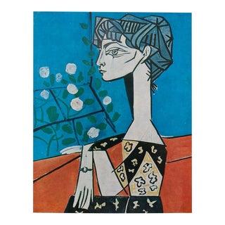 Picasso Portrait De Jacqueline, 1971 Parisian Photogravure For Sale