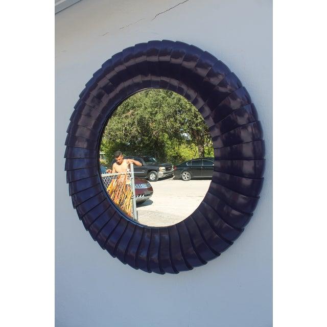 Sunburst Purple Wall Mirror - Image 9 of 11