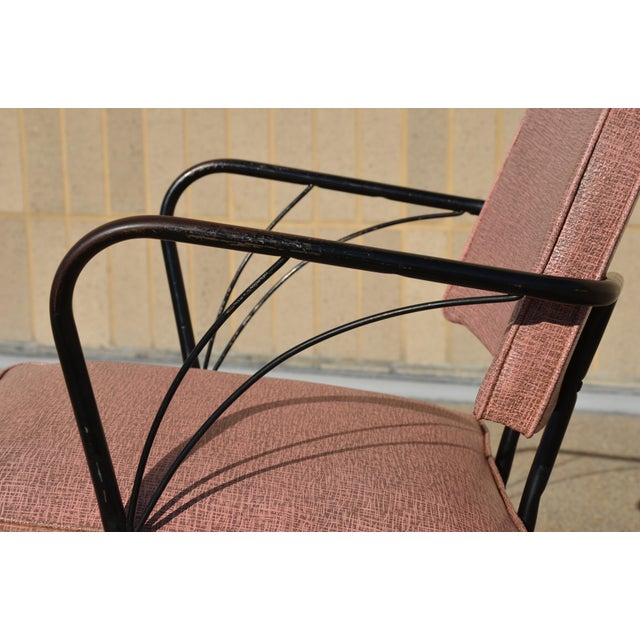Metal Vintage Mid-Century Modern Viko Baumritter Lounge Chair For Sale - Image 7 of 13