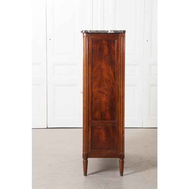 Wood 19th Century French Louis XVI-Style Vitrine For Sale - Image 7 of 10