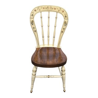 Ethan Allen Hitchcock Style Chair For Sale