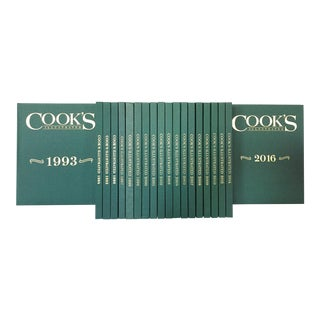 Vintage 20th-21st Century Cook's Illustrated Series Cookbooks - 20 Annual Volumes For Sale