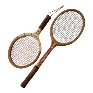 Vintage Spalding & Sportcraft Rackets- Set of 2