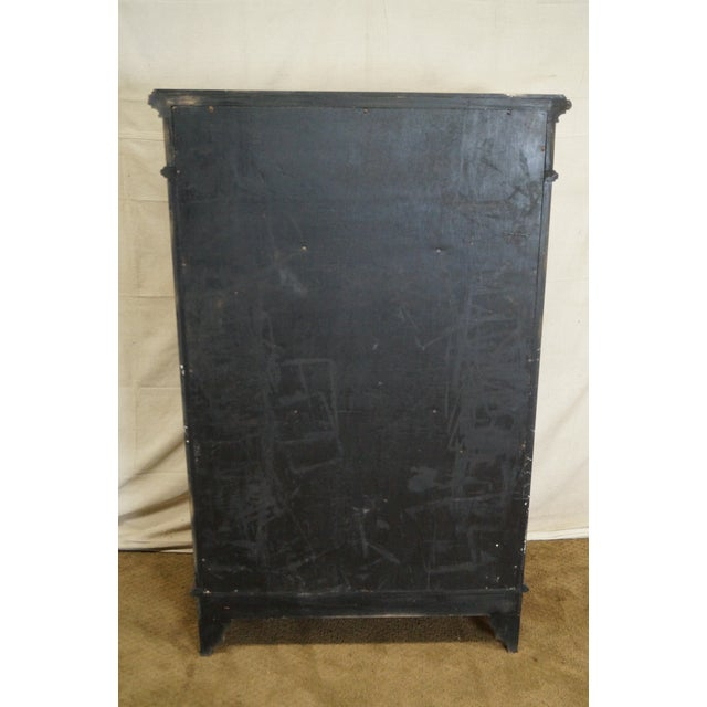 Empire Style Claw Foot Tall Chest For Sale - Image 4 of 10