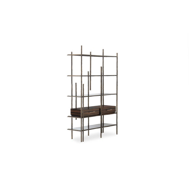 Metal Mambu Bookcase From Covet Paris For Sale - Image 7 of 13