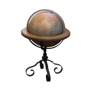 20th Century Traditional Brandt Library Globe For Sale