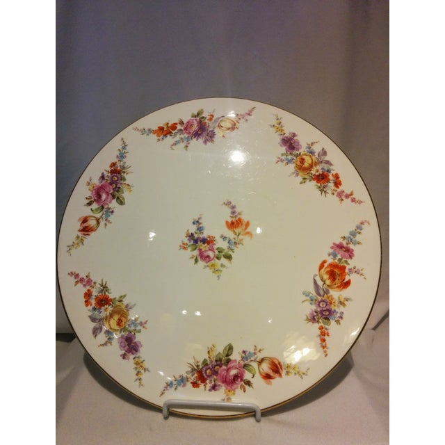German Vintage Cake Platter - Image 2 of 8