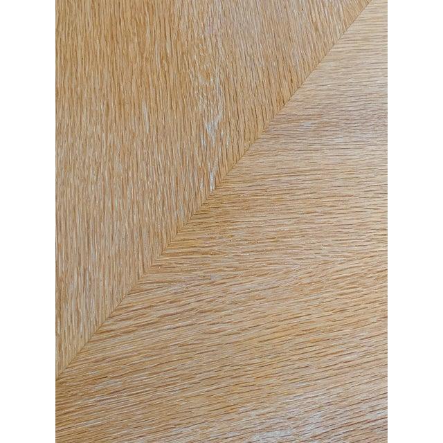 Wood Steve Chase Arthur Elrod Custom Dining Table For Sale - Image 7 of 12