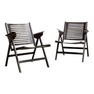 "Niko Kralj ""Rex"" Folding Chairs - A Pair"