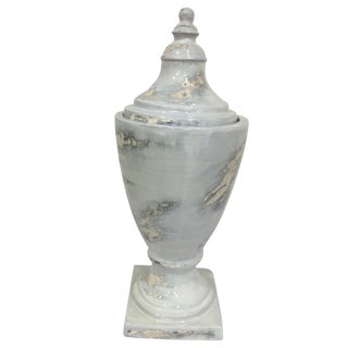 Mar Fil Painted Urn For Sale