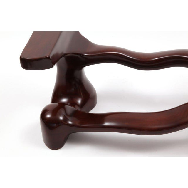 Mid-Century Modern Sculptural Free Form Studio Cocktail Table Base For Sale - Image 3 of 6