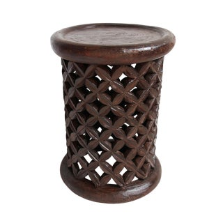 Bamileke Side Table For Sale