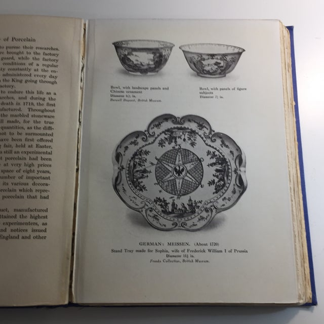 1921 General History of Porcelain William Burton Book For Sale - Image 11 of 13