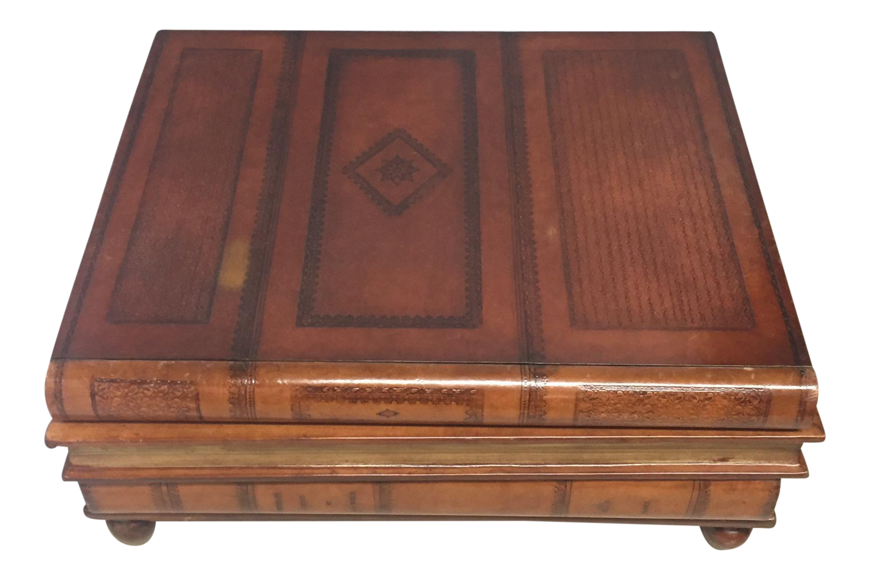 Superb Maitland Smith Stack Of Books Coffee Table
