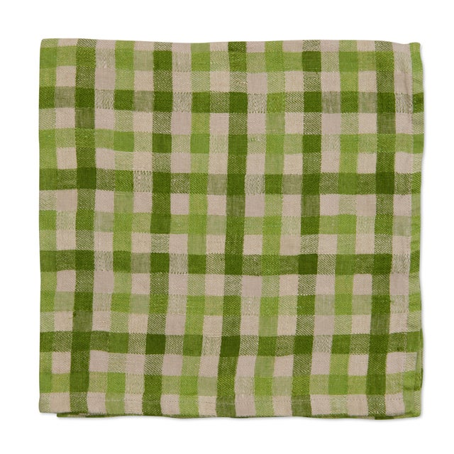 A fun take on our best-selling washed linens, this napkin is prewashed and crinkled, making it a soft, easy care, no-iron...