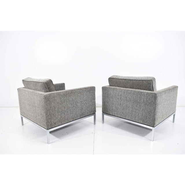 Florence Knoll 1960s Florence Knoll Chairs - a Pair For Sale - Image 4 of 13