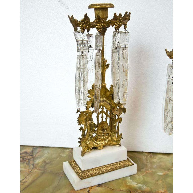 Set of Three French Belle Époque Style Candelabras For Sale In New York - Image 6 of 11