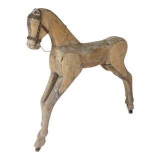 19th Century Swedish Toy Horse For Sale