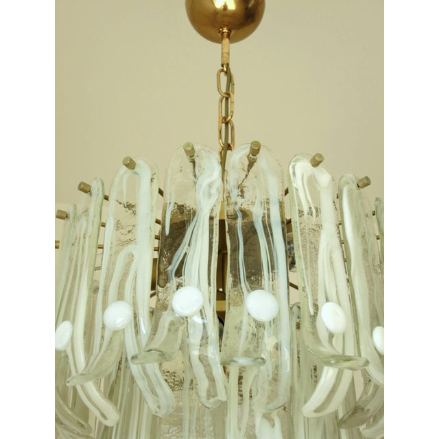 Petals Chandelier by Mazzega For Sale In Palm Springs - Image 6 of 10