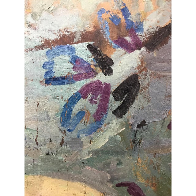 Blue Russian Impressionist Nude, 1965 For Sale - Image 8 of 11