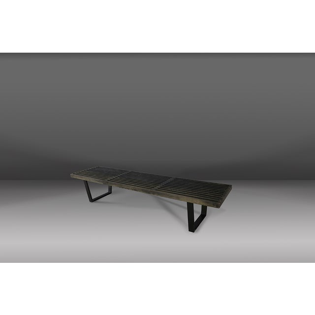 1950s Beautiful 50's Bench in Maple Wood by George Nelson. For Sale - Image 5 of 5