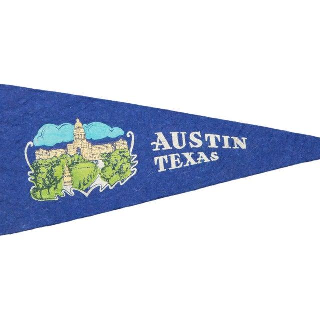 Vintage Austin Felt Flag Banner - Image 2 of 2