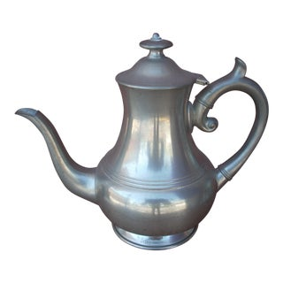 Woodbury Pewters Pewter Coffee Pot For Sale