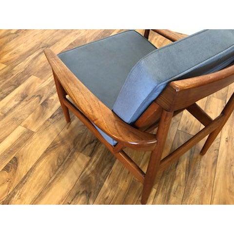 Grete Jalk Danish Teak Lounge Chair For Sale - Image 11 of 13