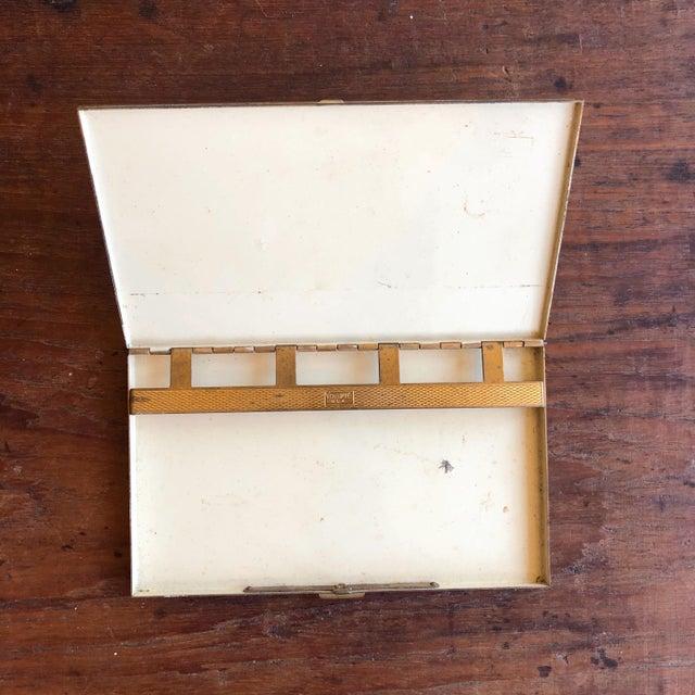 Vintage Volupte Brass Cigarette Case For Sale - Image 4 of 5