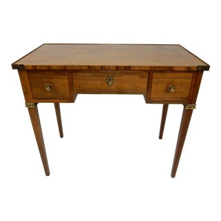 Regency Style Rosewood Desk by Baker Furniture 36""