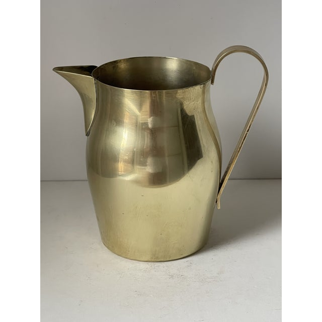 1950s Dorlyn Brass Pitcher by Parzinger For Sale - Image 5 of 9