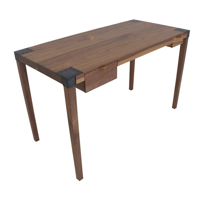 Walnut Writer's Desk For Sale - Image 9 of 9