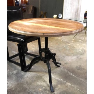Italian 40s Adjustable Industrial Table Preview