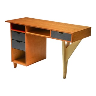 1950s Dutch Modernist Desk For Sale