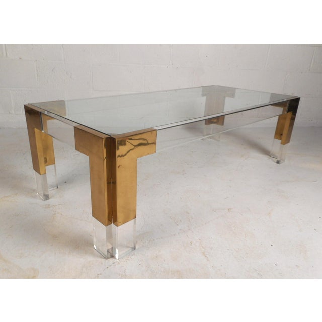 Mid-Century Charles Hollis Jones Style Coffee Table For Sale - Image 11 of 11