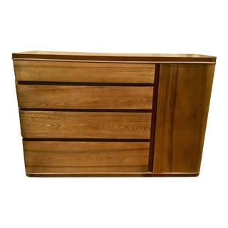 AD Modern Olive Ash Wood Dresser For Sale