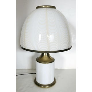 Vintage Italian Art Deco Style Table Lamp by Fabbian for Mazzega Preview
