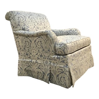 Sqaure Mid Century Modern Accent Chairs.Silver Accent Chairs Damask
