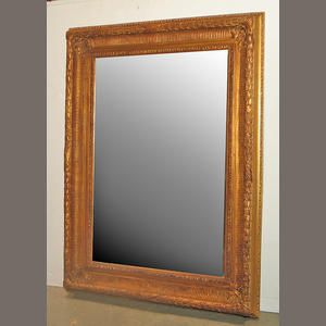 Neoclassical Gilt Composition Mirror For Sale - Image 5 of 5