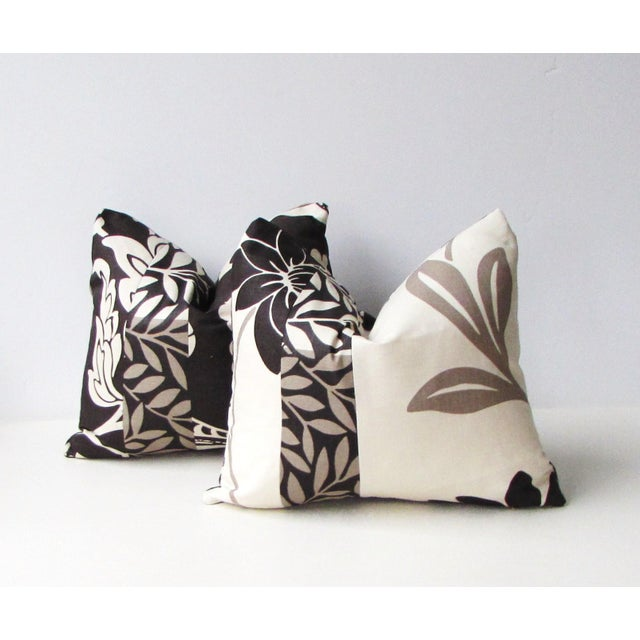 This listing is for a coordinating pair of pillows covers. These pillows are made from patchwork or color blocked Romo...