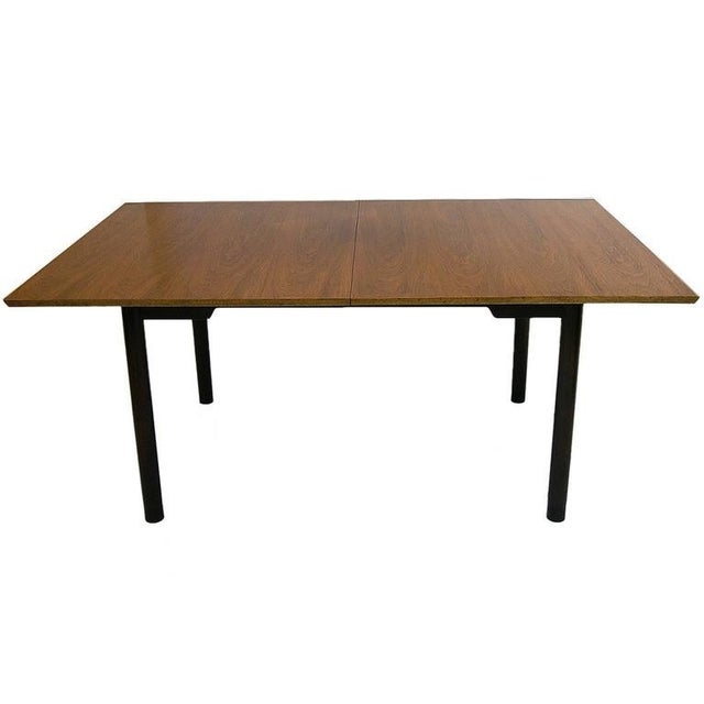 Dunbar Furniture Edward Wormley for Dunbar Extension Dining Table For Sale - Image 4 of 9