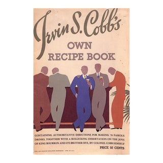 Irvin S. Cobb's Own Recipe Book For Sale