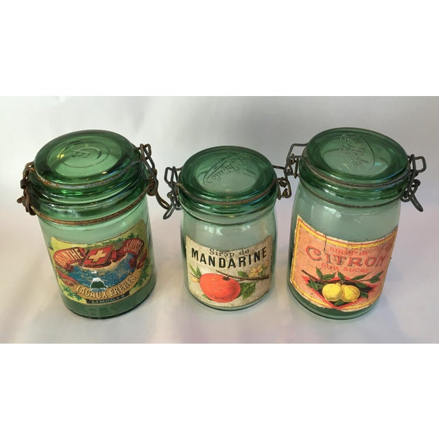 1930s French Canning Jars - Set of 3 - Image 3 of 6