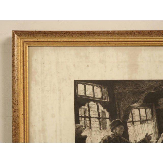 Gray Authentic Jules Benoit-Lévy Engraving For Sale - Image 8 of 11
