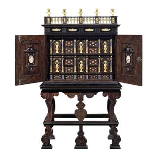 17th-Century Cabinet of Curiosities For Sale
