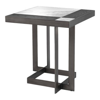 White Mocha Side Table | Eichholtz Hermoza For Sale